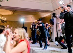 melange wedding reception photo by Sami Kathryn